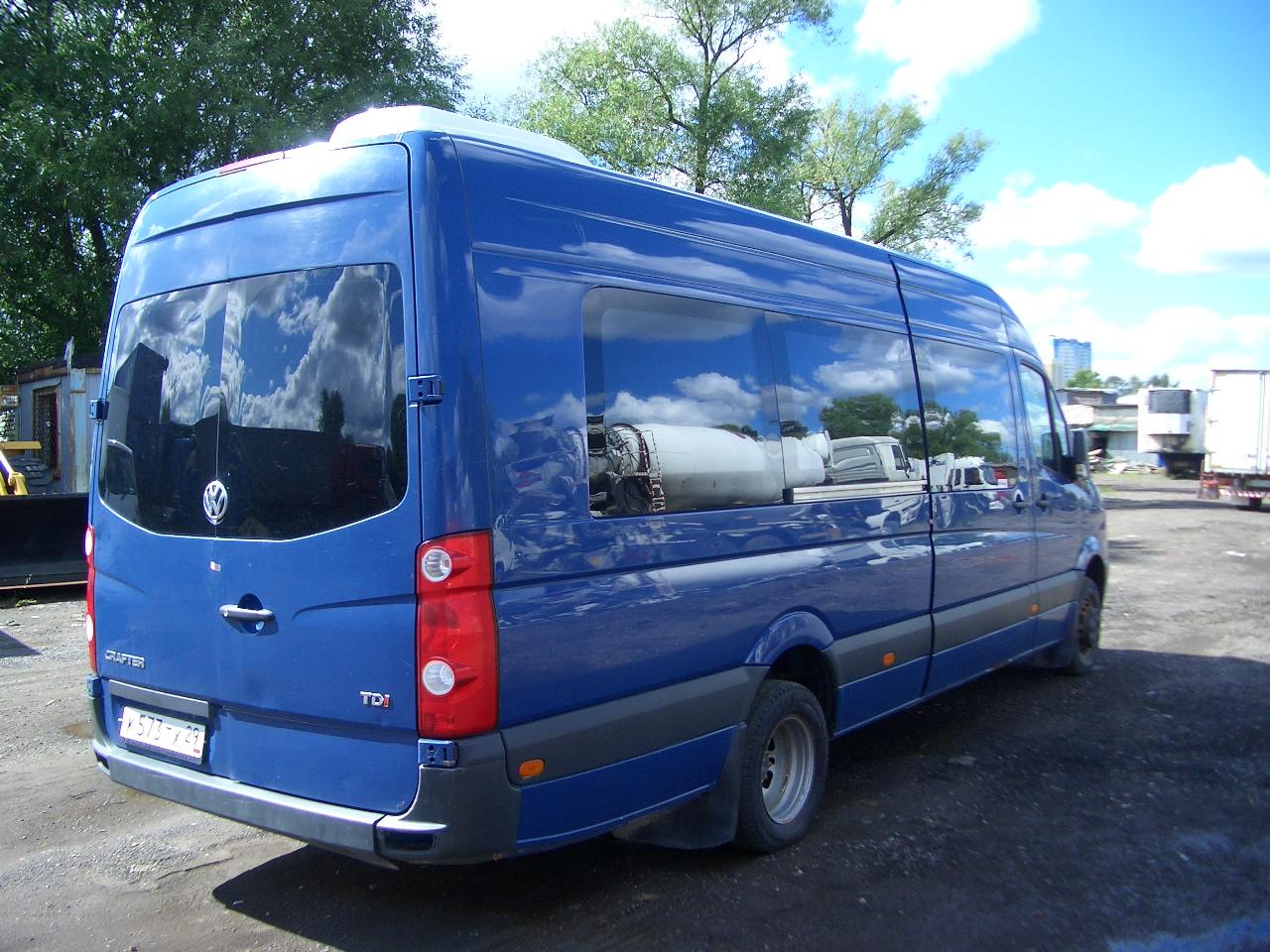 volkswagen crafter 223700, 2011 г.в.